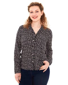 BLUSA FULL RAPPORT MUJER NEGRO