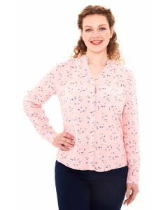 BLUSA FULL RAPPORT MUJER ROSA